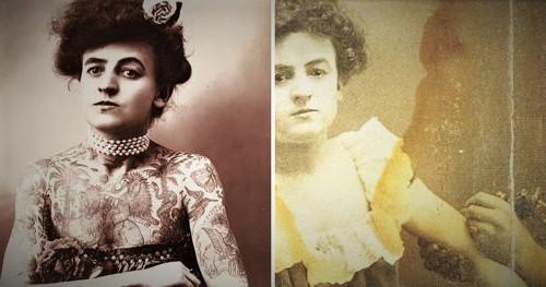 6 Wanita Bersejarah yang Membuat Sejarah Tato