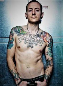 Chester Bennington dan kecintaannya pada tato